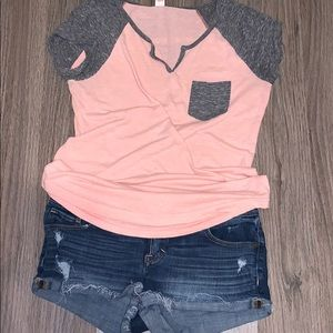 Women's outfit Abercrombie & Fitch shorts